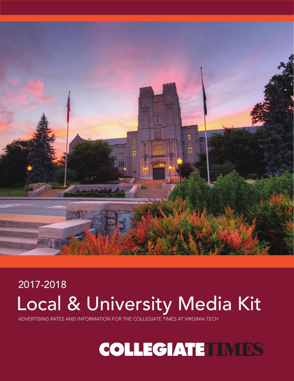 Local & University Media Kit 2017-2018