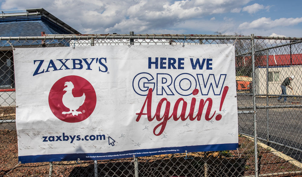 Zaxby's to bring zest to Blacksburg fast food | News ...