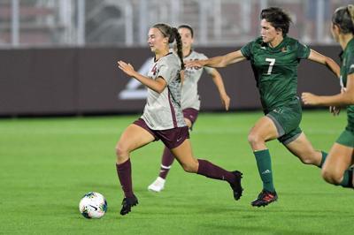 Women's soccer vs. Miami