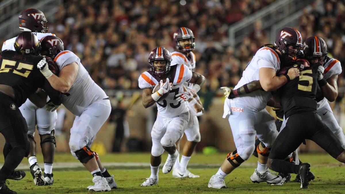 Virginia Tech vs Florida State (Football) - Deshawn McClease