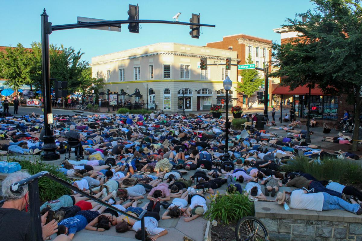 Vigil and Die-In for Those Killed by Police