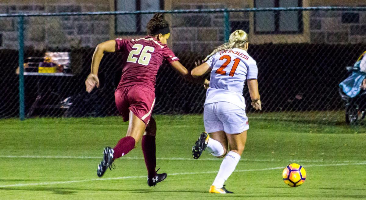 Women's Soccer vs. Boston College