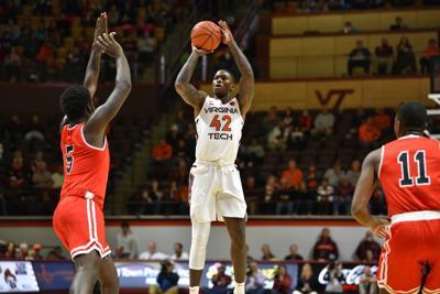 VT Men's Basketball vs Saint Francis - Ty Outlaw