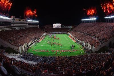 VT vs Clemson - Stadium shot