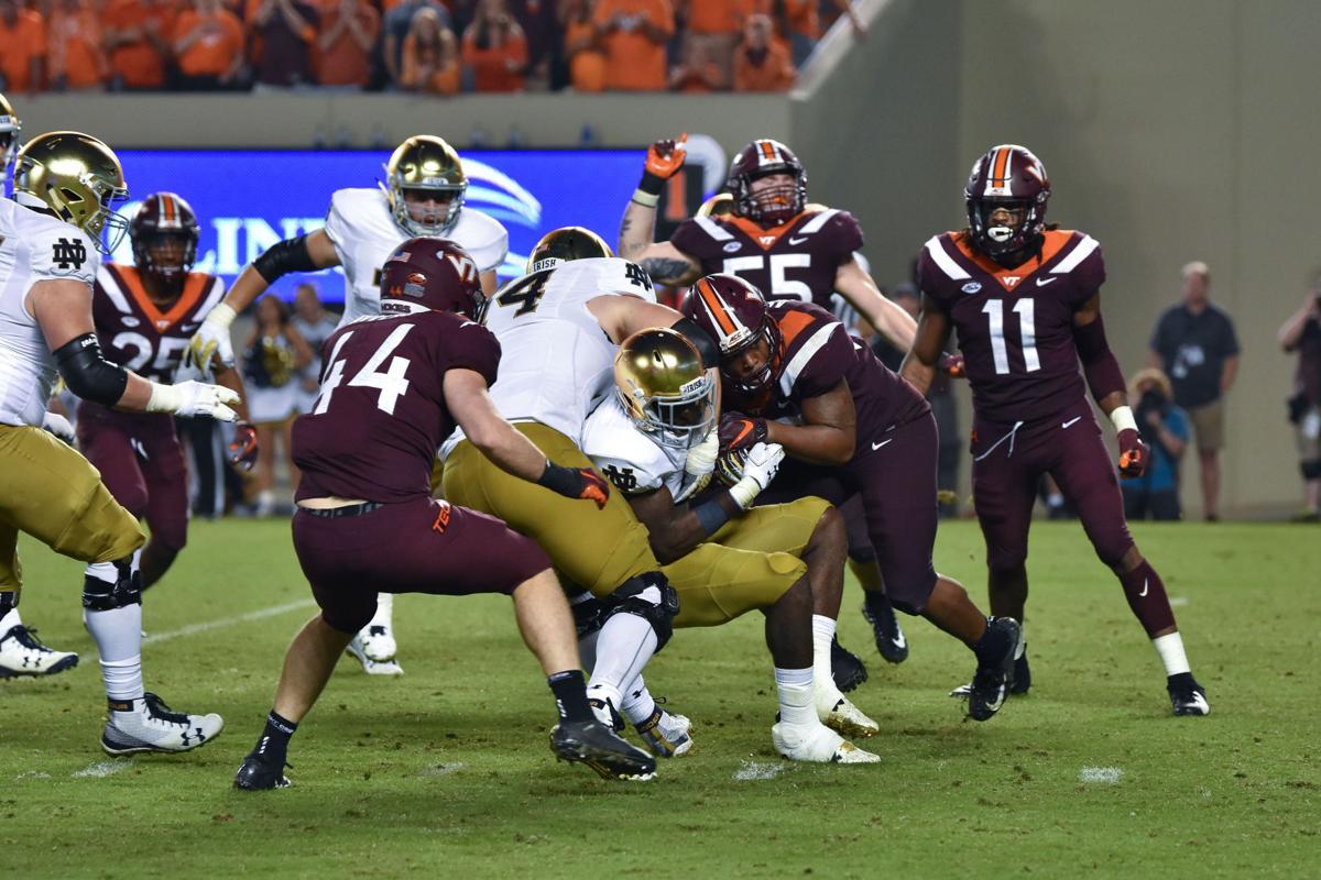 VT Football vs Notre Dame, Oct. 6, 2018
