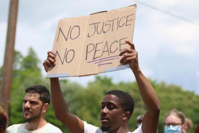 Black Lives Matter Protest in Christiansburg