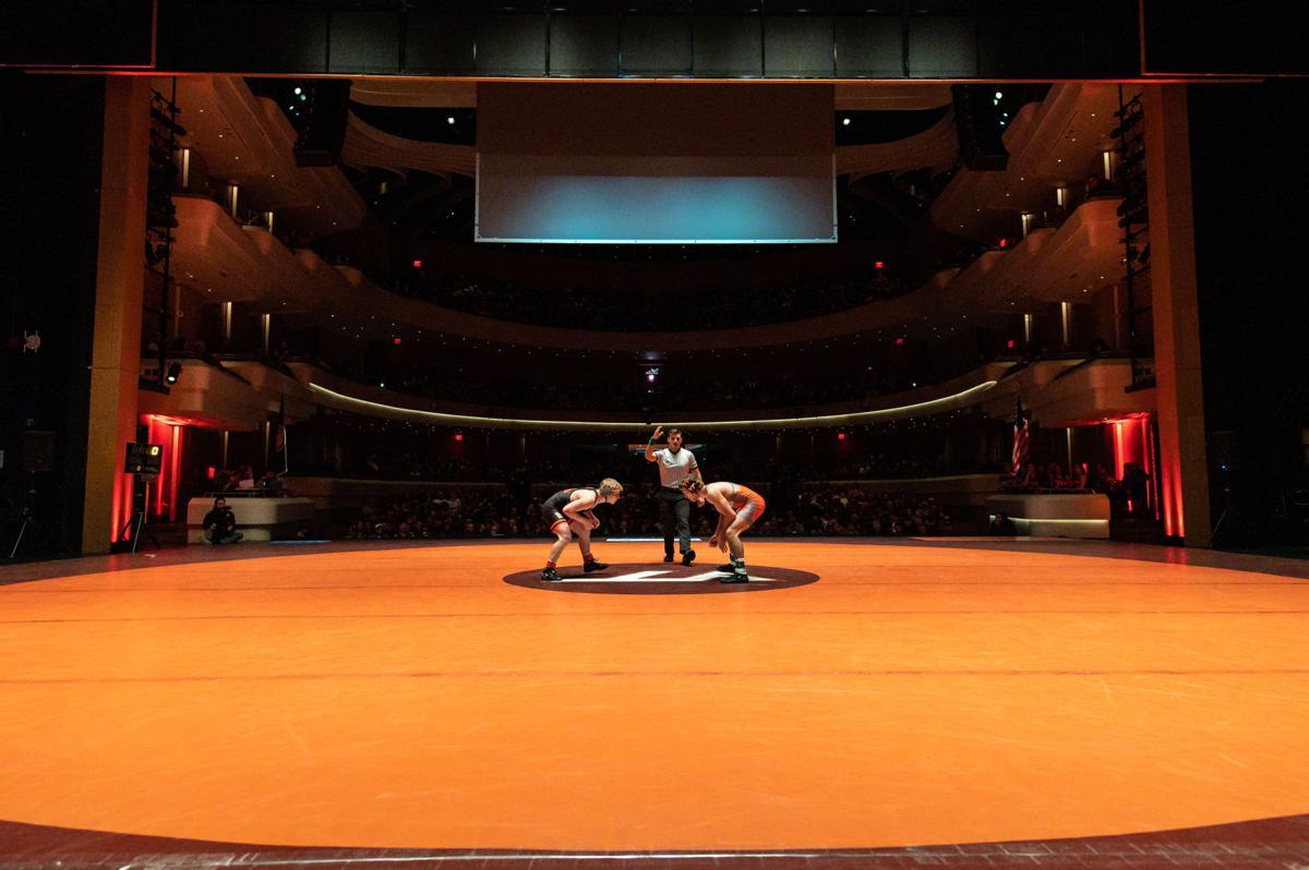 VT Wrestling vs UVA