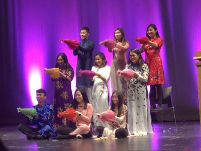 Asian American Student Union fall cultural show