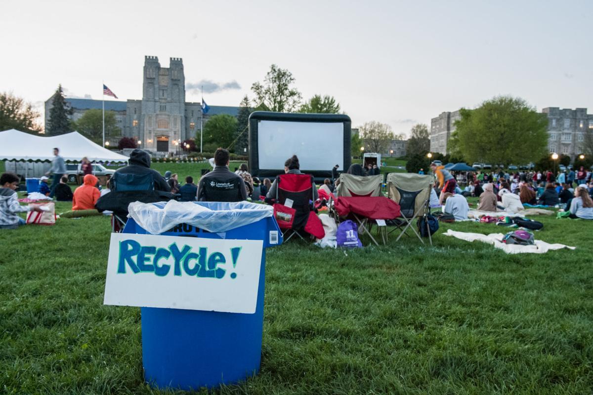 Movie on Drillfield promotes sustainability