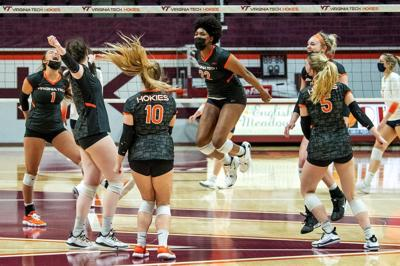 2020-2021 Virginia Tech Volleyball vs. Syracuse