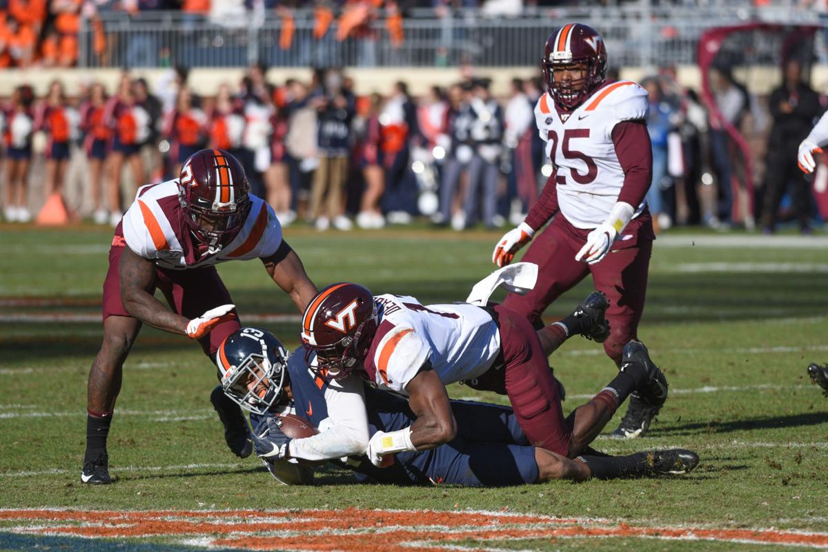 VT FB vs. UVa