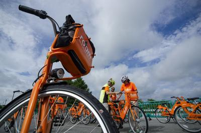 """Roam"" Bike Share Program Launch Event August 1, 2018"