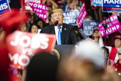 Charlotte NC Trump Rally