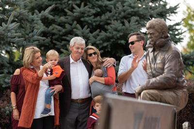 Beamer Statue Unveiling, Oct. 6, 2018