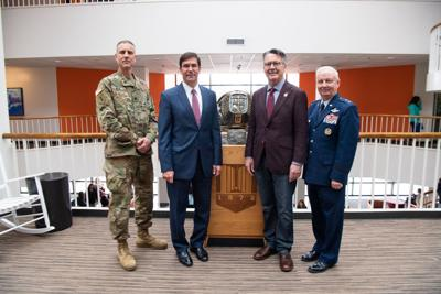 Q&A: Secretary of U S  Army visits Corps of Cadets