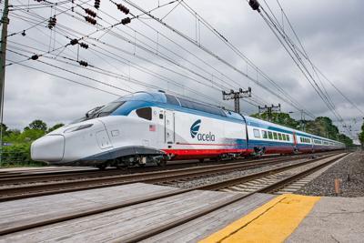 Next generation Amtrak Acela
