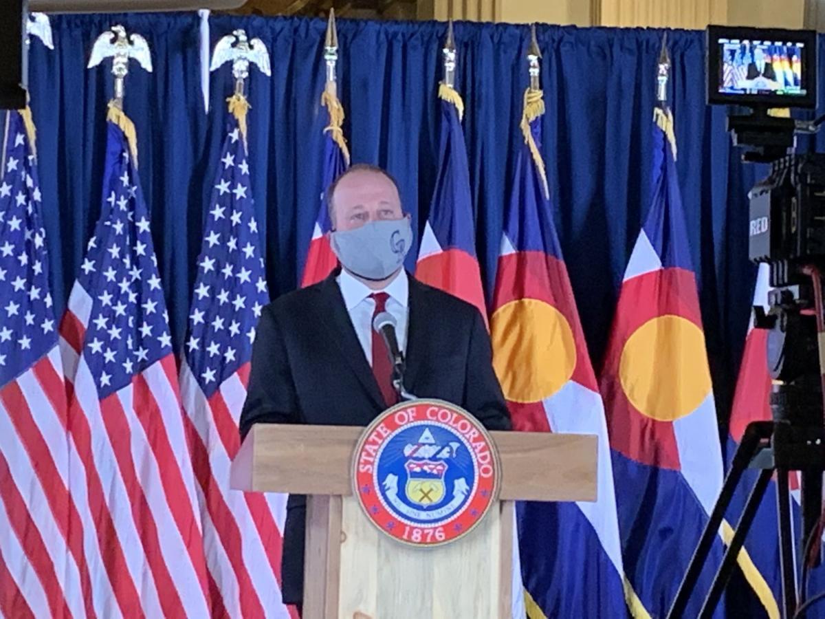 Gov. Jared Polis news conference, May 15, 2020
