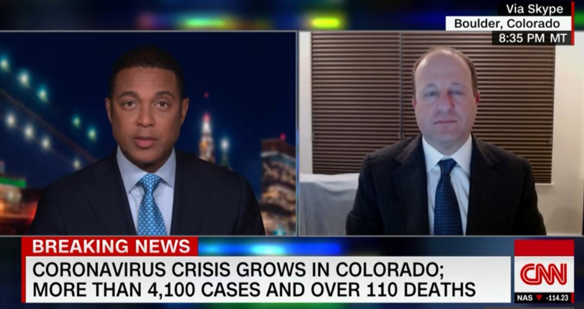 Polis on CNN 040420