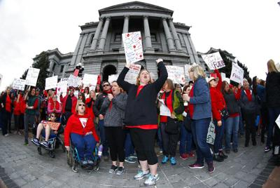INSIGHTS: As the legislature gets generous, teachers chant, 'We want more'