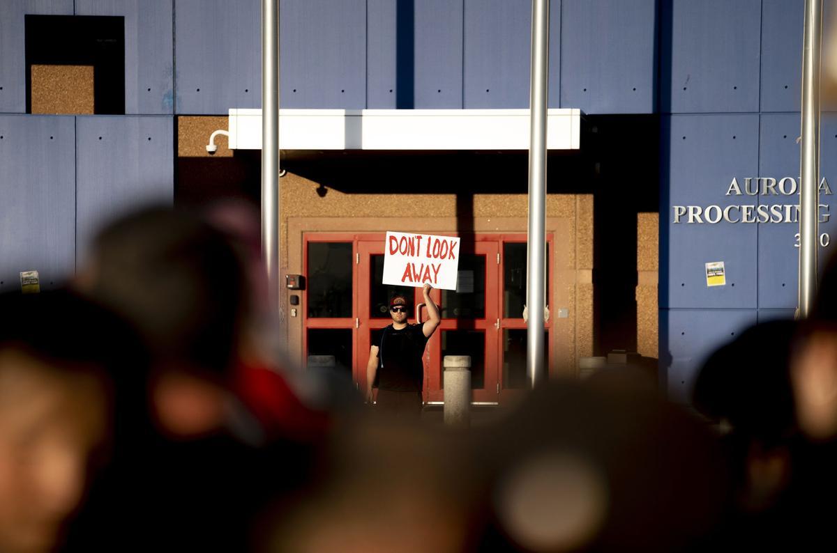 Immigration Protest Denver