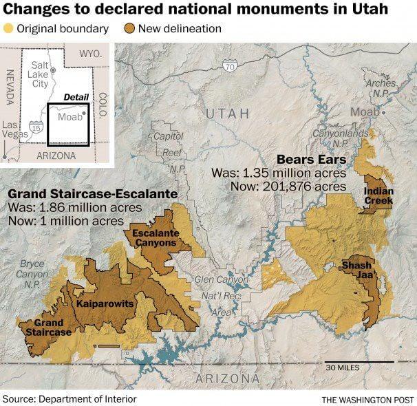 Feds propose selling former national monument lands
