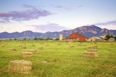 Boulder Colorado Barn farm