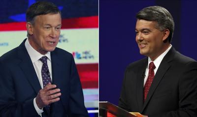 Election 2020 Hickenlooper Gardner debates