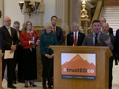 House Minority Leader Patrick Neville talks education agenda