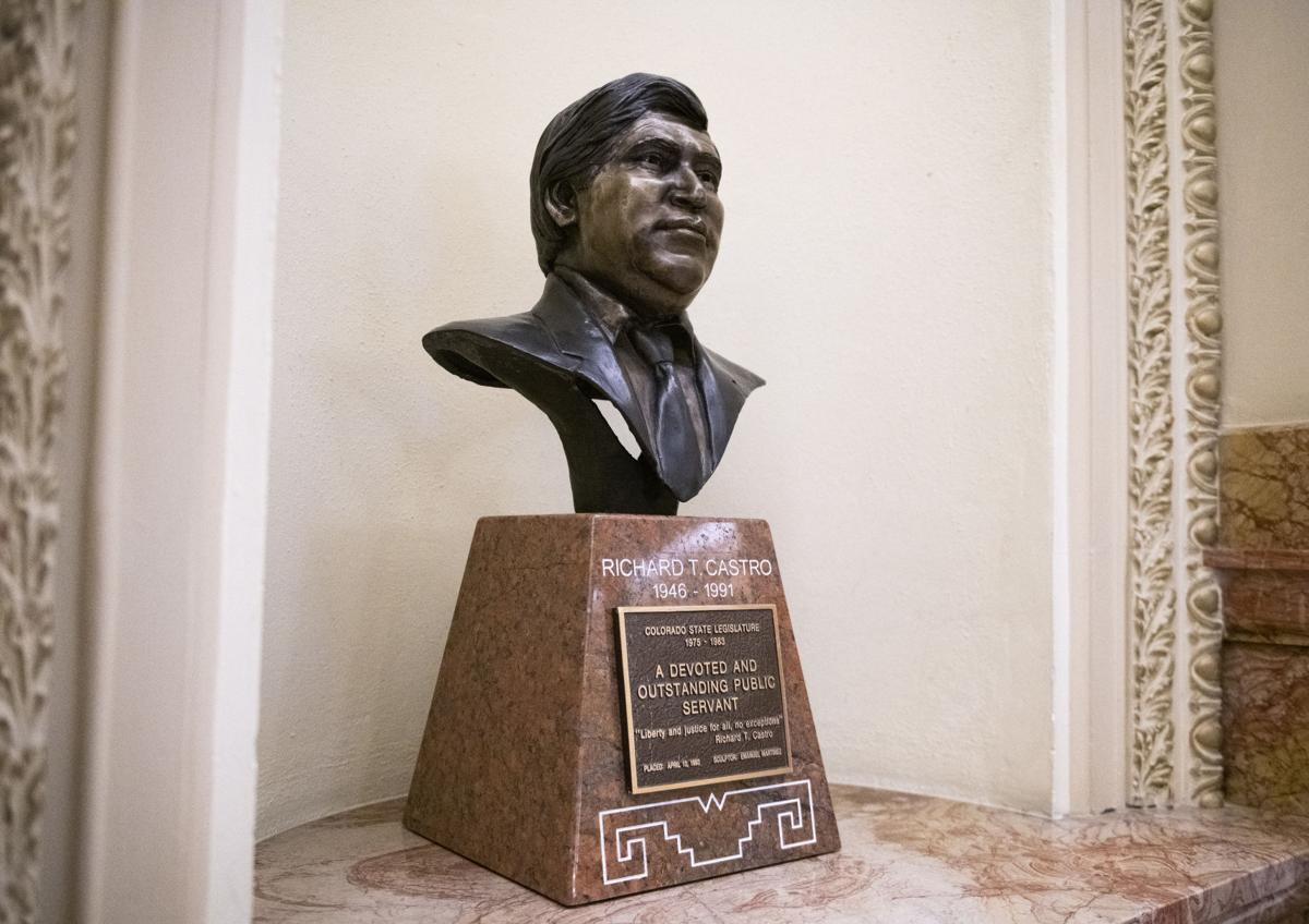 Bust of late Rep. Rich Castro