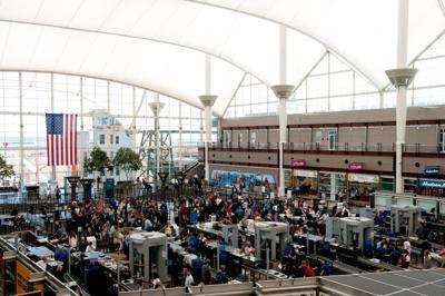 Denver International Airport security tsa