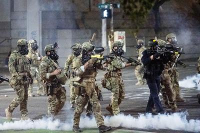 AP Portland Protests
