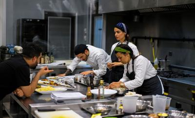 Cooking course training