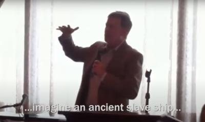 Hickenlooper slave ship video