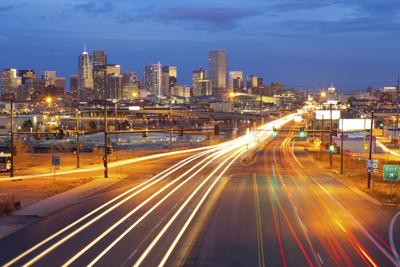 Denver traffic streets transportation