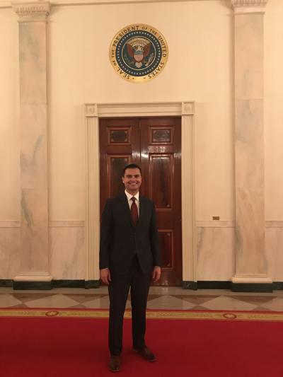 Rep. Dave Williams at the White House