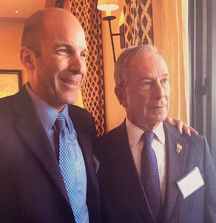 Huttner and Bloomberg