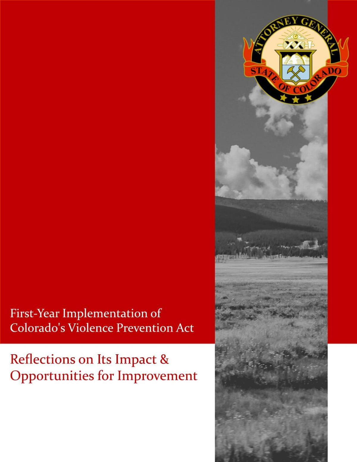 Red flag implementation report
