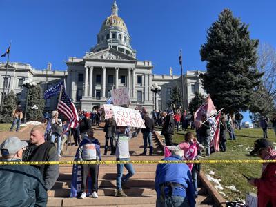 Pro-Trump rally Denver Nov. 28, 2020