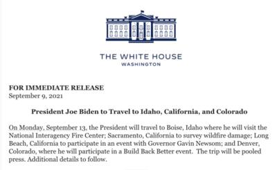 Biden announcement