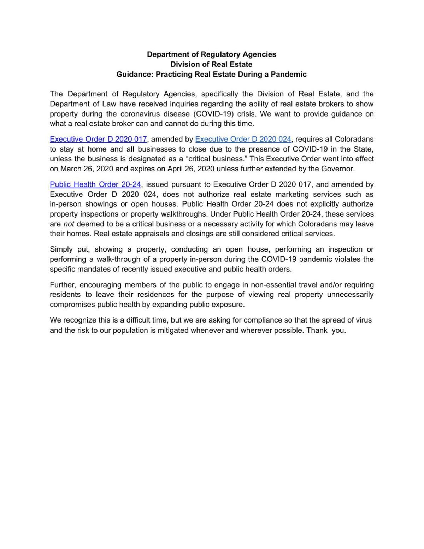 Advisory on real estate transactions