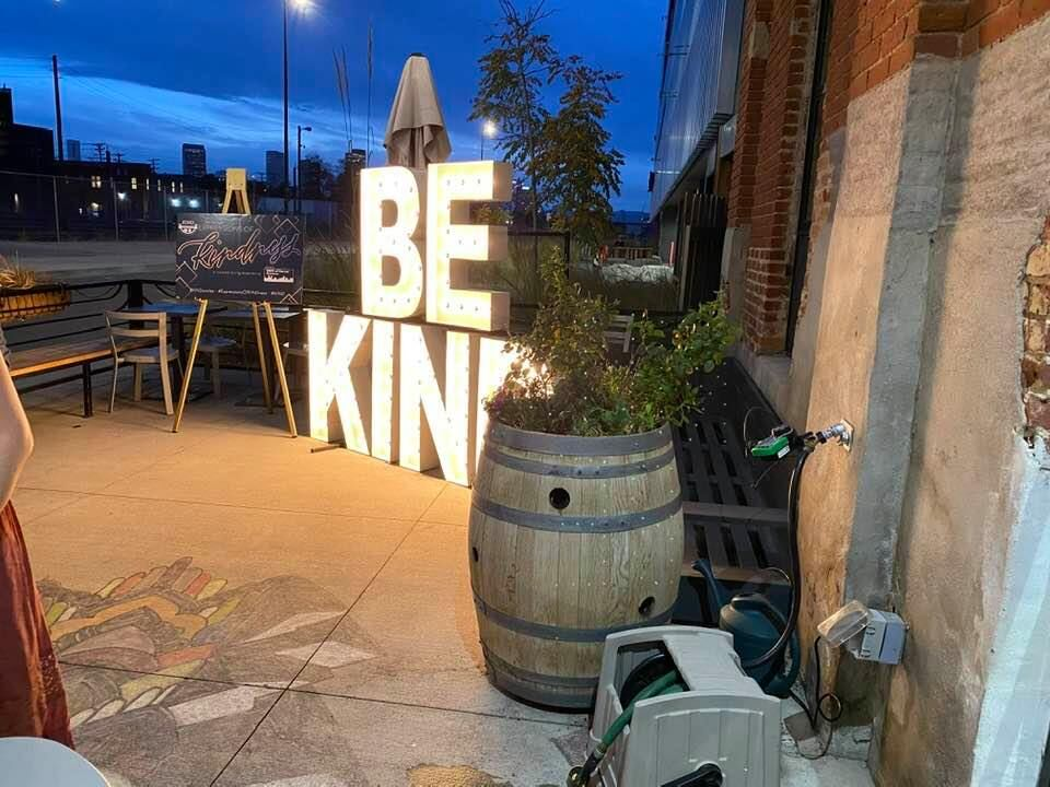 The motto for Kids in Need of Dentistry: Be KIND.