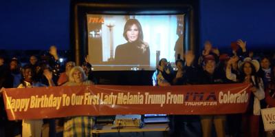 Melania Trump birthday