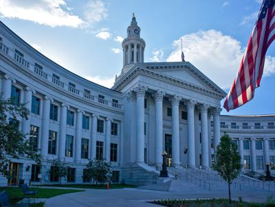 The Denver City and County Building.