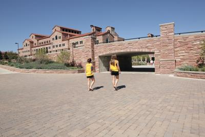 young women students at the University of Colorado, Boulder
