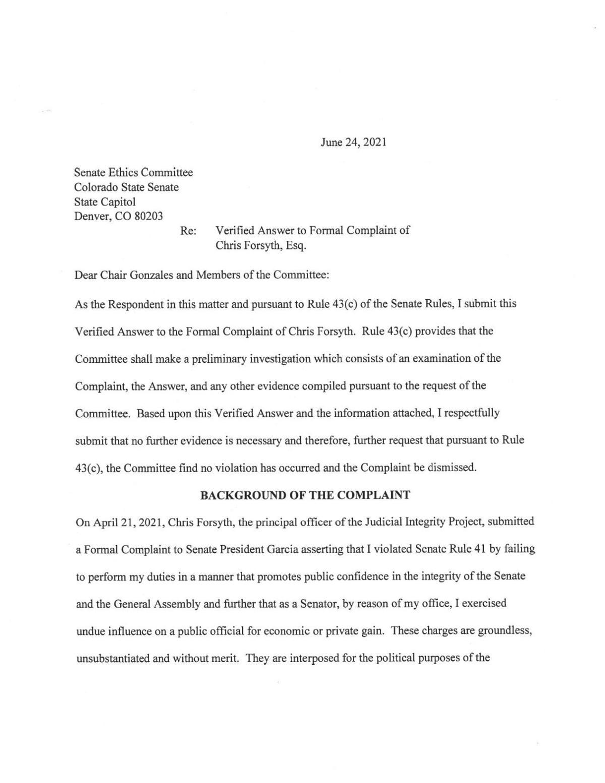Gardner response