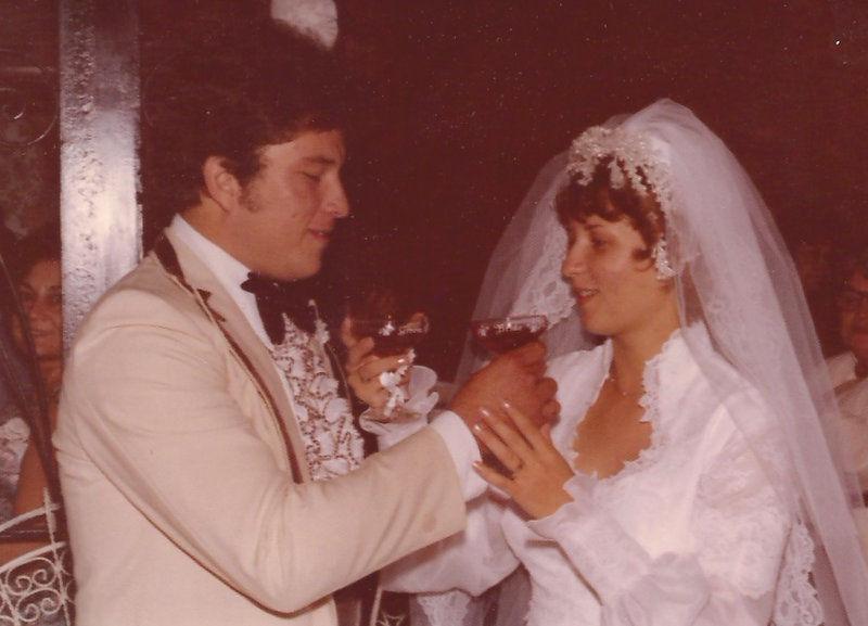 Mary Margaret Fritz and Jose Luis Laborin on their wedding day Sept. 29, 1979, in Douglas, Ariz.