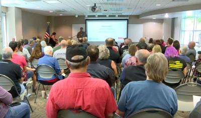 At a library in Longmont Saturday, for two hours, more than 100 people had questions about how the red flag law could impact them.