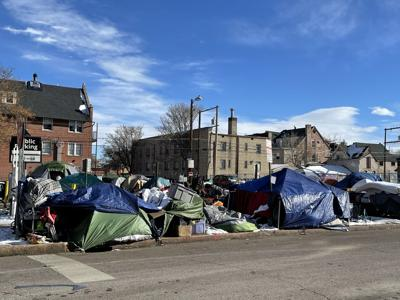 Denver homeless camp