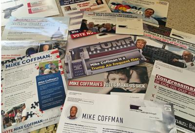 Crow Coffman election communications fliers mailers