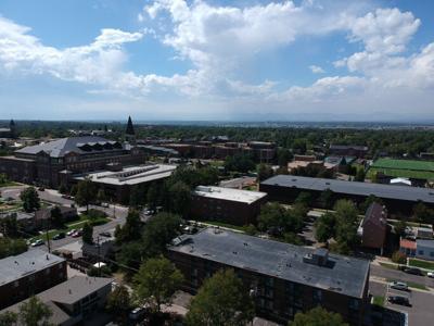 University of Denver from above